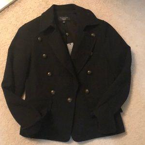 Talbots double breasted black blazer *NWT*
